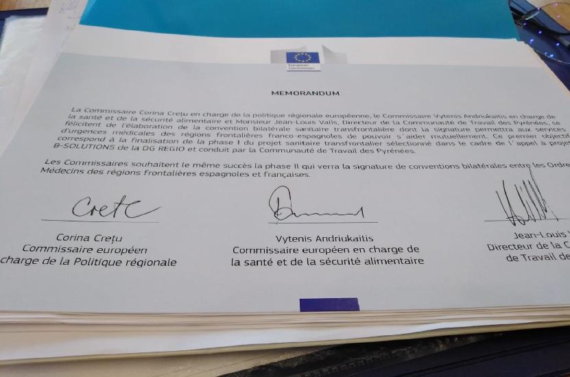 Memorando de la Comisión Europea - Mejoras emergencia sanitaria