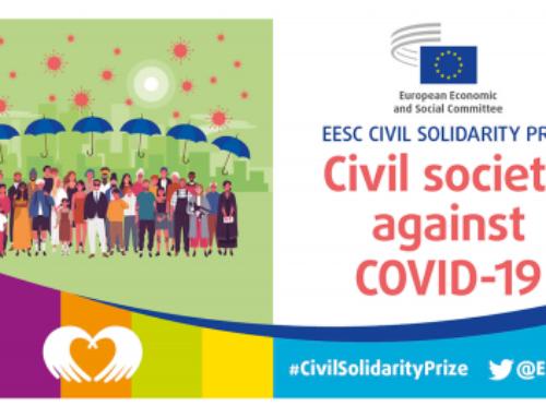 El Comité Económico y Social Europeo lanza el Premio Solidaridad Civil 2020, dedicado a la lucha contra el coronavirus